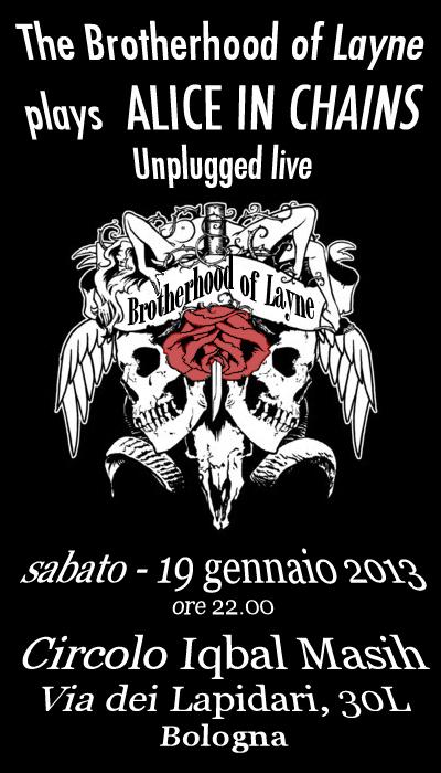 Locandina AIC Unplugged - 19 gennaio 2013-1