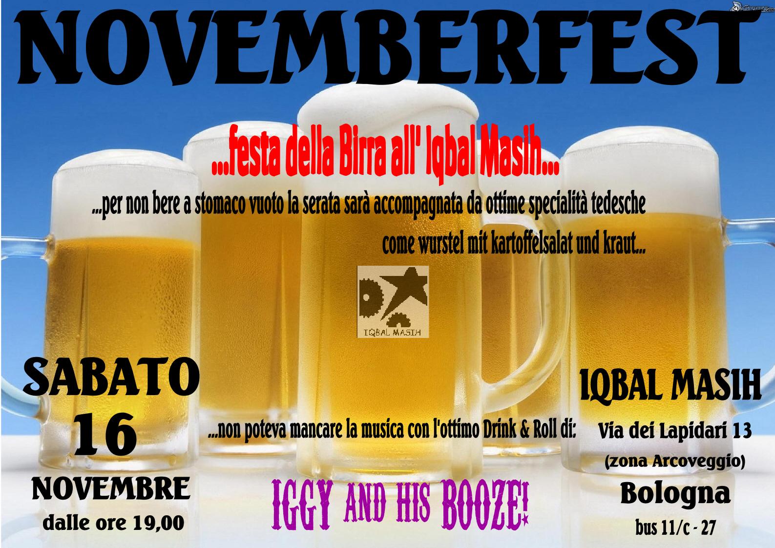 Festa Birra Iqbal Masih 16-11-2013